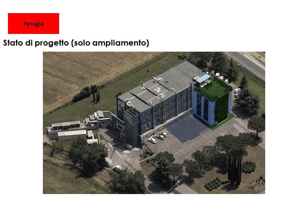 Perugia Stato di progetto (solo ampliamento)