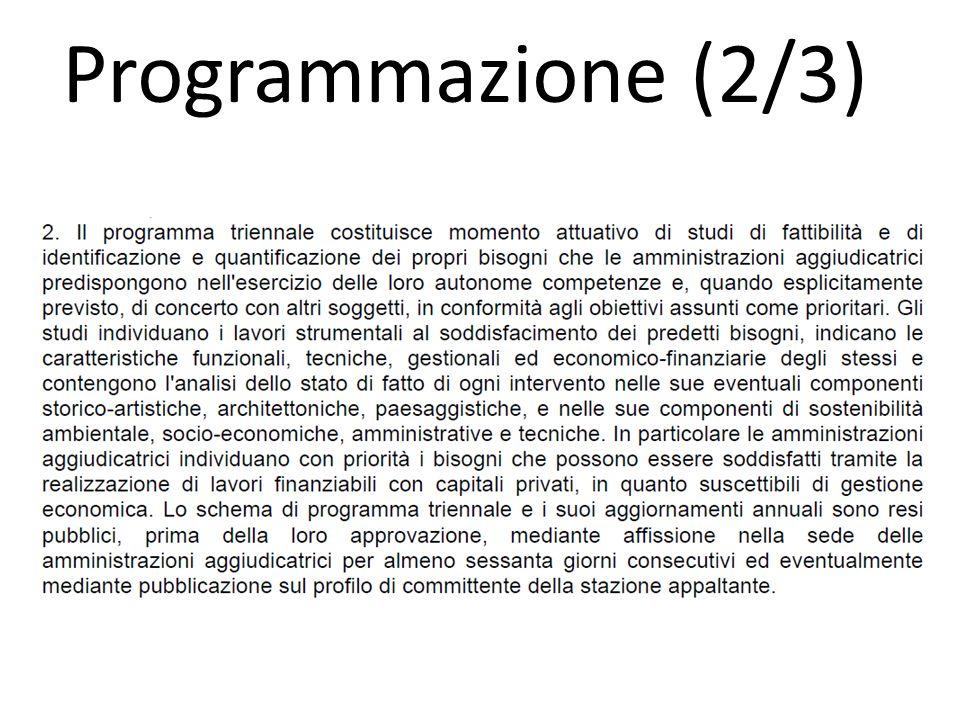 Programmazione (2/3)