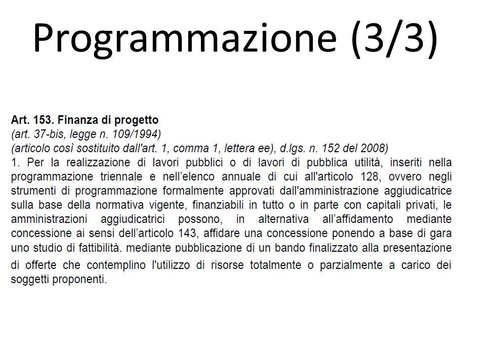 Programmazione (3/3)