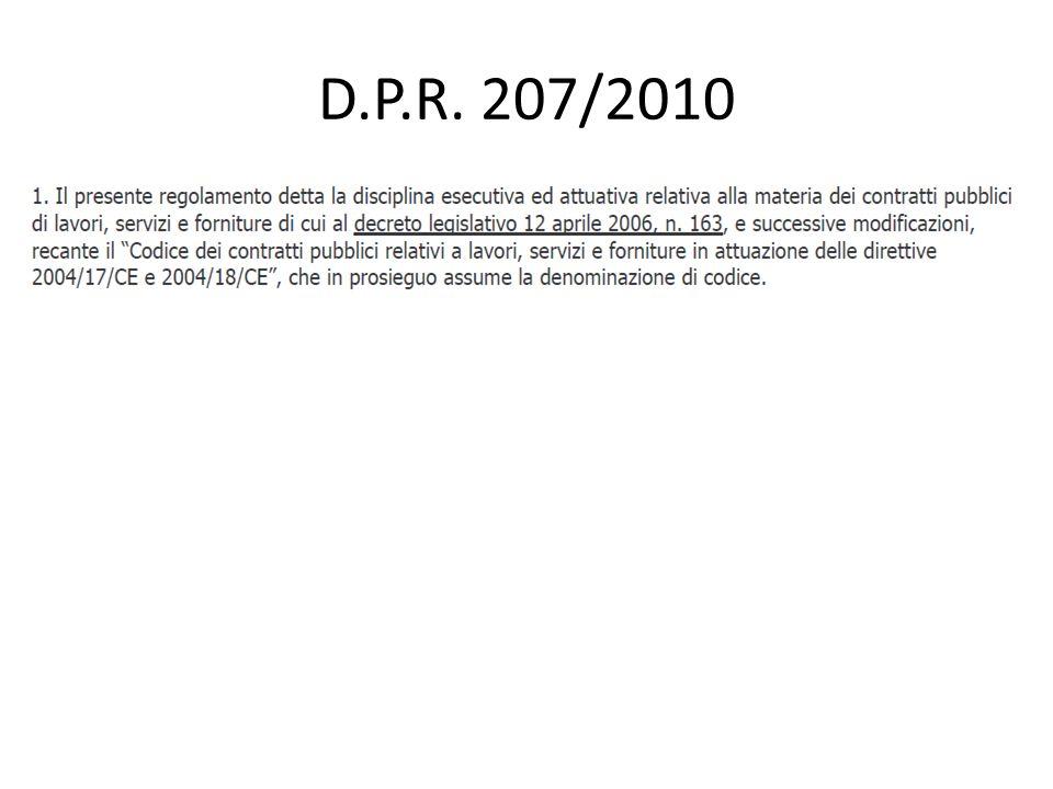 D.P.R. 207/2010