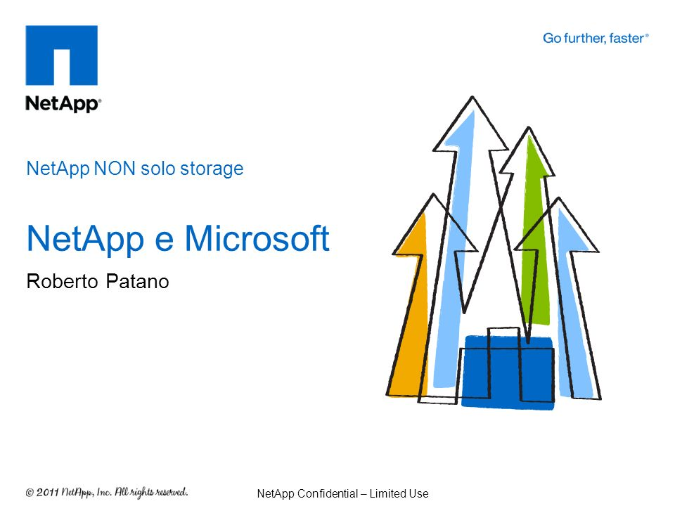 La Partnership NetApp e Microsoft NetApp NON solo storage