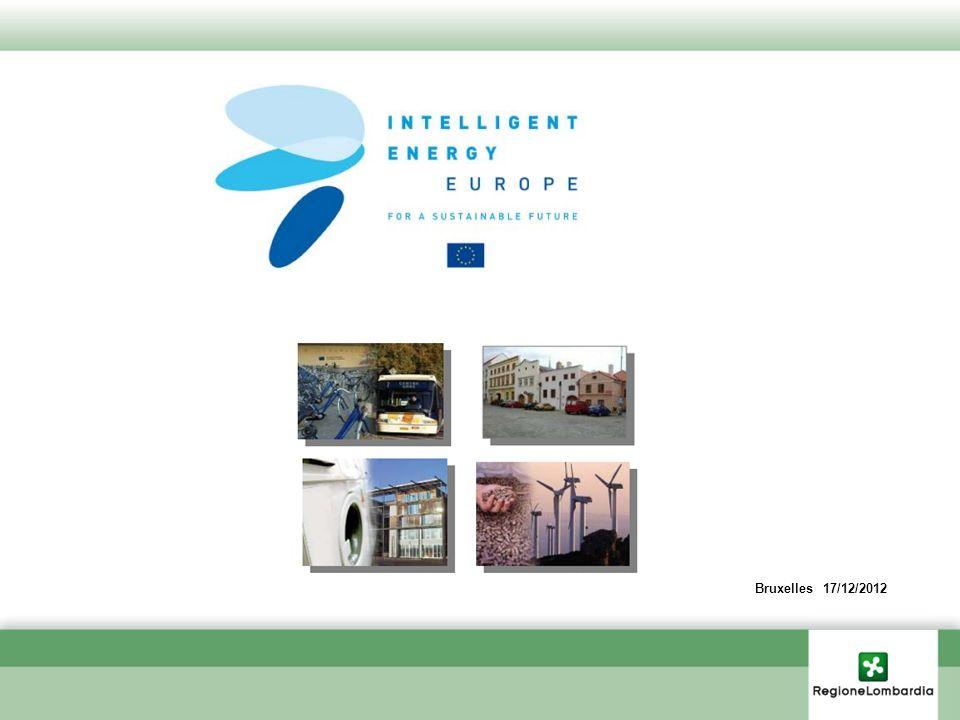 Programma Energia Intelligente Europa (EIE-CIP) Il programma Energia intelligente - Europa è un programma specifico istituito nell ambito del Programma Quadro per la Competitività e l innovazione (CIP) 2007-2013 Il programma ha i seguenti obiettivi: a) incoraggiare lefficienza energetica e luso razionale delle risorse energetiche; b) promuovere le fonti denergia nuove e rinnovabili e incoraggiare la diversificazione energetica; c) promuovere lefficienza energetica e luso di fonti denergia nuove e rinnovabili nei trasporti.