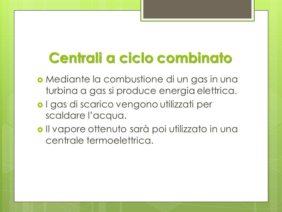 Pro e contro VANTAGGI Grandi potenze Producono circa il 75% dellenergia elettrica in Italia SVANTAGGI Inquinamento Grandi costruzioni Impatto visivo Richiedono tempi lunghi per lavviamento