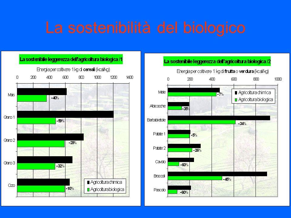 La sostenibilità del biologico