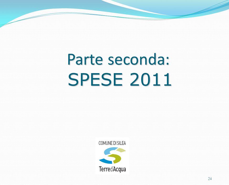 Parte seconda: SPESE 2011 24