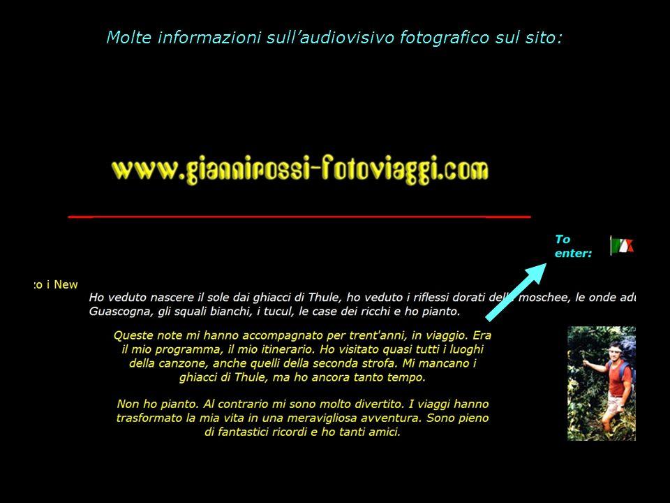 Molte informazioni sullaudiovisivo fotografico sul sito: