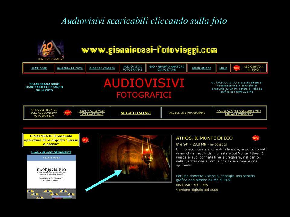 Audiovisivi scaricabili cliccando sulla foto