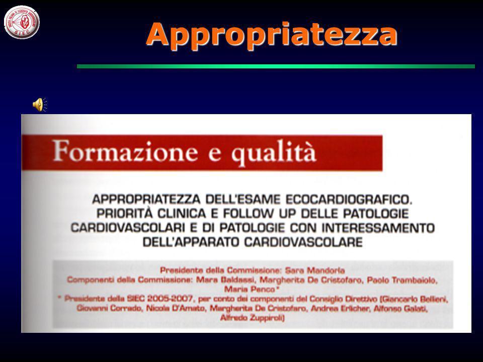 Commissione Appropriatezza SIEC 2006/2007