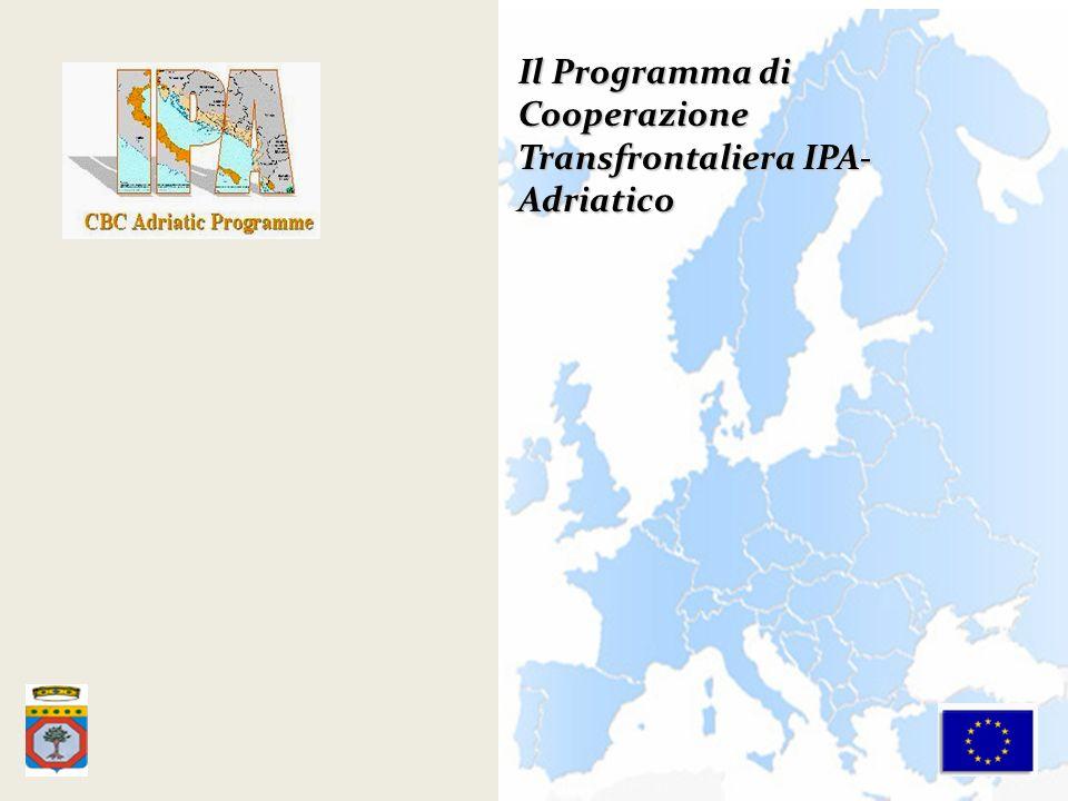 Il Programma di Cooperazione Transfrontaliera IPA- Adriatico