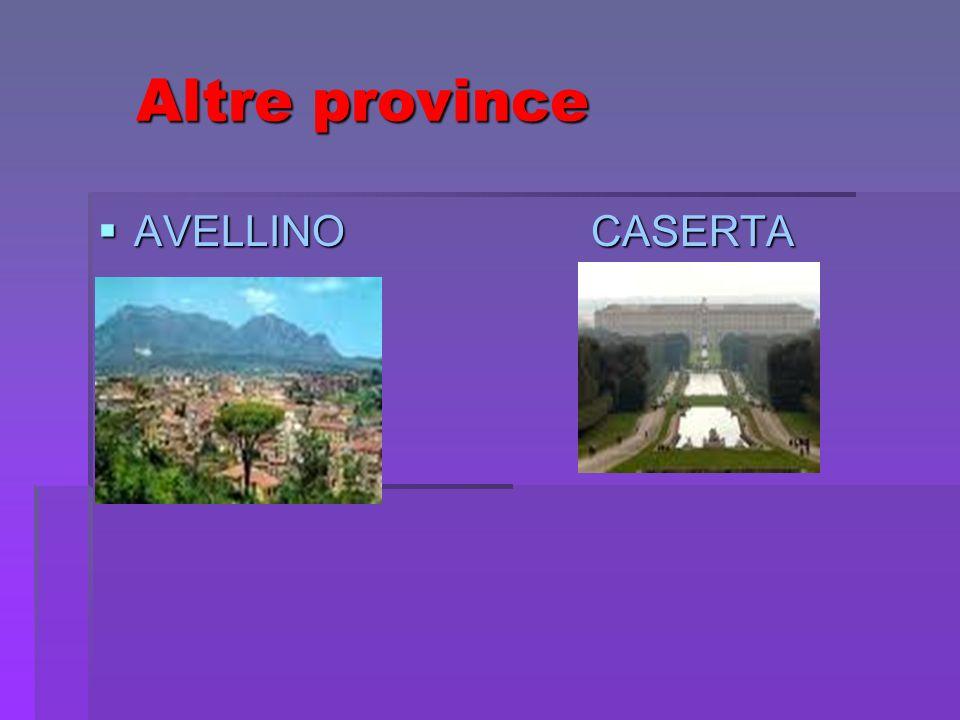 Altre province Altre province AVELLINO CASERTA AVELLINO CASERTA