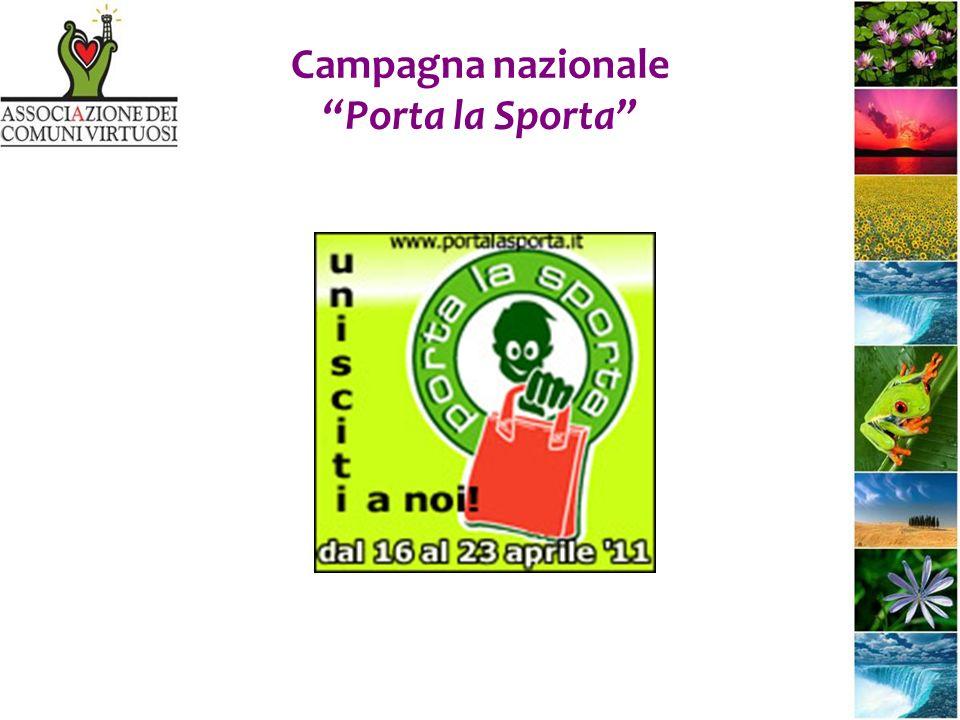 Campagna nazionale Porta la Sporta