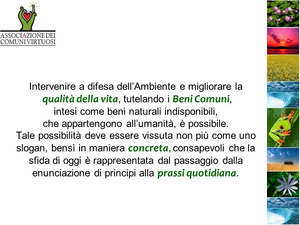 Capannori (LU) Si estende nella piana lucchese per 165,5 kmq, il territorio comunale più esteso dItalia Territorio complesso formato da pianure, altopiani, colline, paludi Primo Comune in Italia ad aderire alla strategia Rifiuti Zero entro il 2020 attraverso una politica ambientale formata da: -SOSTENIBILITÁ -PARTECIPAZIONE