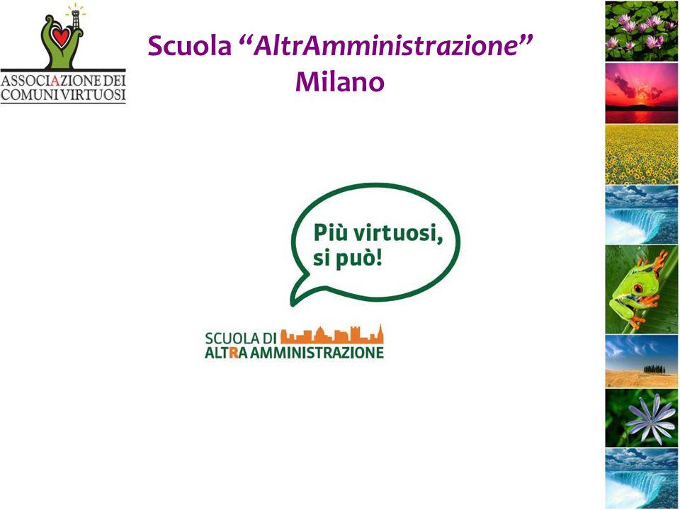 Scuola AltrAmministrazione Milano