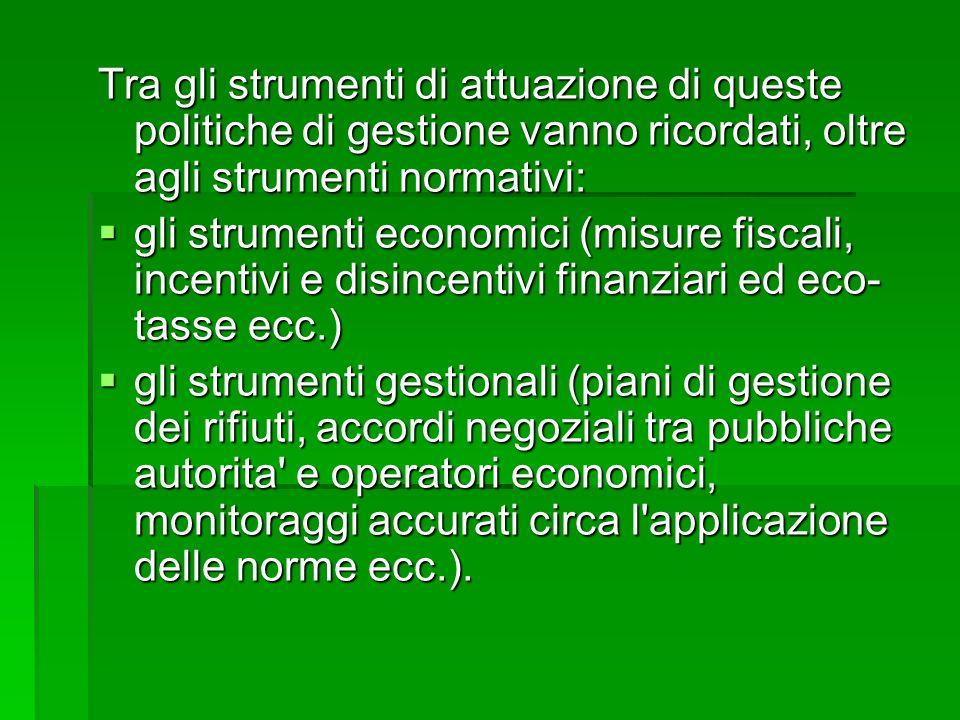 Sitografia di riferimento http://www.provincia.bologna.it/ambiente/rif iuti/rifiuti_urbani/rifiuti_urbani.html