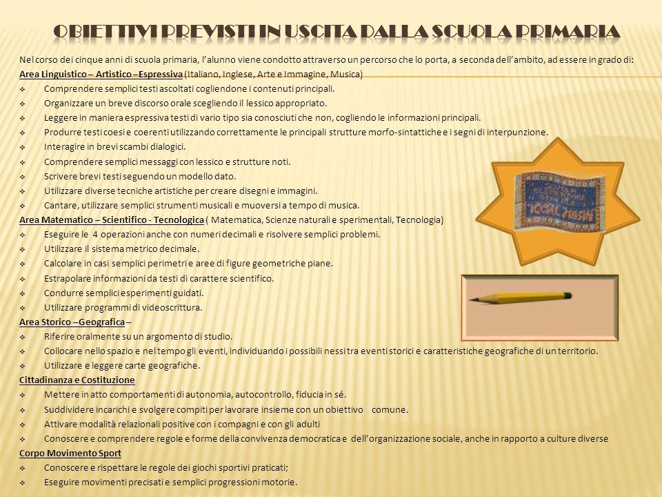 Obiettivi generali cognitivi Potenziare la padronanza della lingua italiana in quanto veicolo di conoscenza e mezzo di comunicazione Acquisire in form