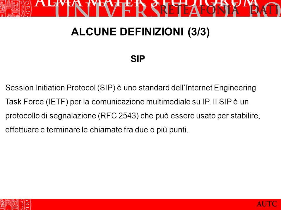 TELEFONIA STANDARD VS VOICE OVER IP Rete ISDN Voce digitalizzata e trasportata su un canale ISDN in un flusso continuo di bit Canale riservato Delay-time e jitter restano costanti nel tempo Rete IP Voce digitalizzata, compressa e trasformata in datagrammi da un encoder I vari datagrammi sono trasmessi sulla rete IP Delay-time e Jitter dipendono dal grado di saturazione della rete