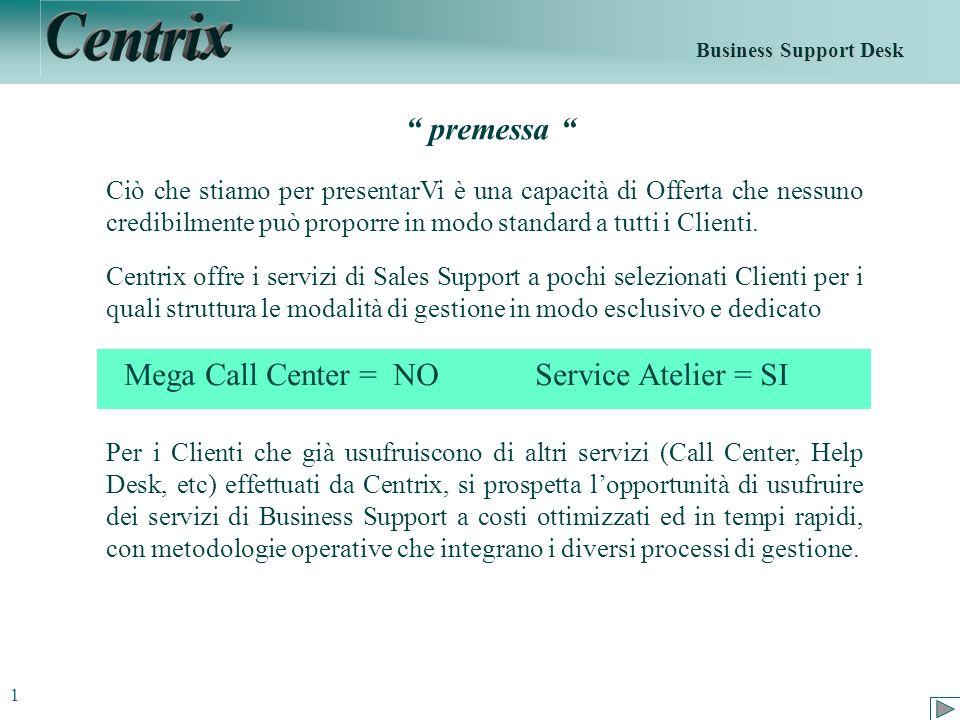 Obiettivo Non essere per il Cliente un tipico Fornitore di Servizio, di fatto un costo, bensì un Partner integrato nel suo modello di Business.
