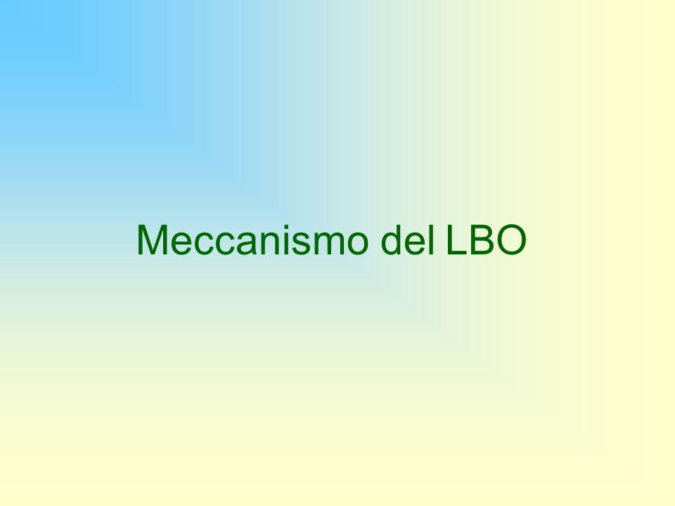 Meccanismo del LBO