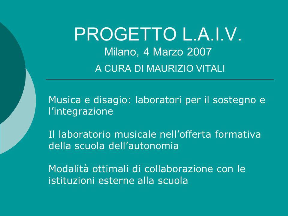 PROGETTO L.A.I.V.