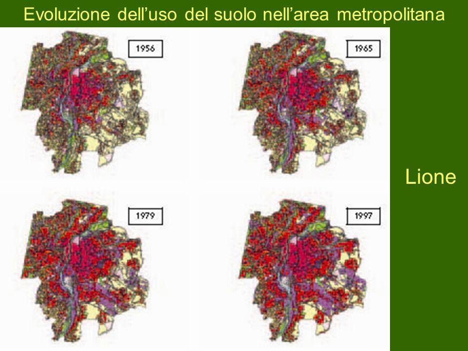 Evoluzione delluso del suolo nellarea metropolitana Lione
