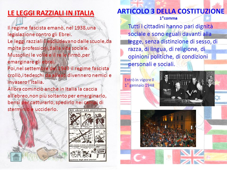 LE LEGGI RAZZIALI IN ITALIA Il regime fascista emanò, nel 1938,una legislazione contro gli Ebrei. Le leggi razziali li escludevano dalle scuole,da mol
