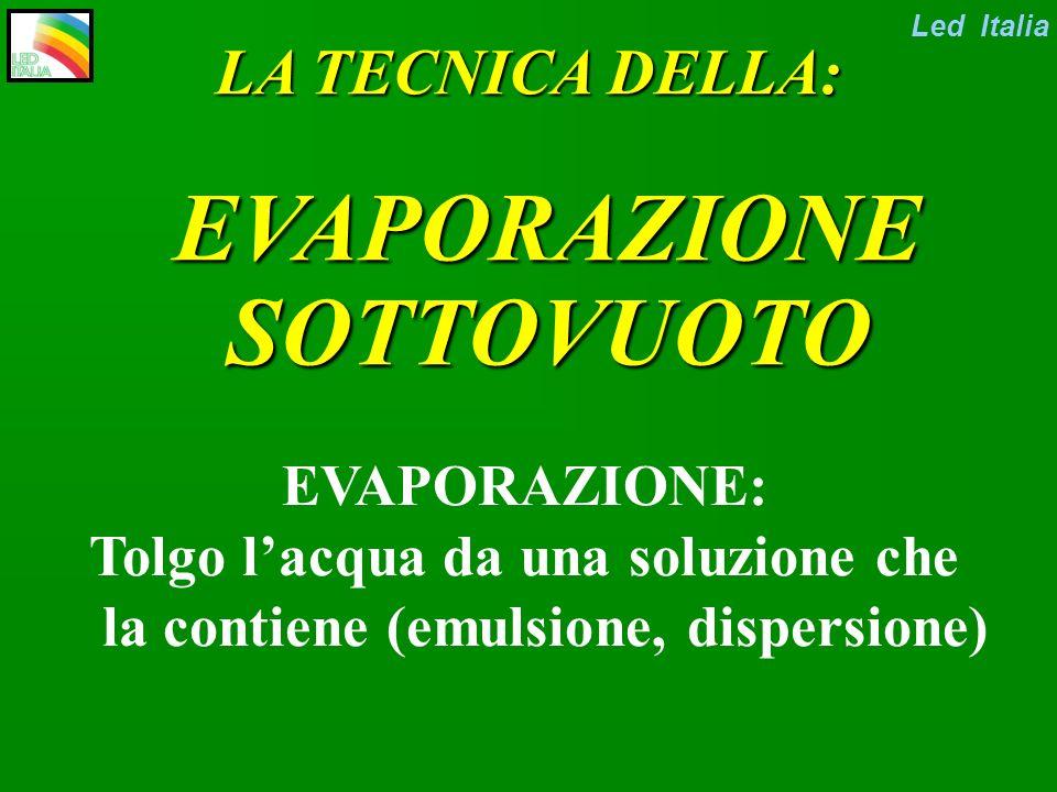 A.I.F.M. NOVEMBRE 2002 CONCENTRAZIONE REFLUI GALVANICI: VERSO LO Led Italia SCARICO ZERO