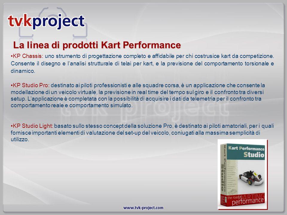 La linea di prodotti Kart Performance KP Chassis: uno strumento di progettazione completo e affidabile per chi costrusice kart da competizione. Consen