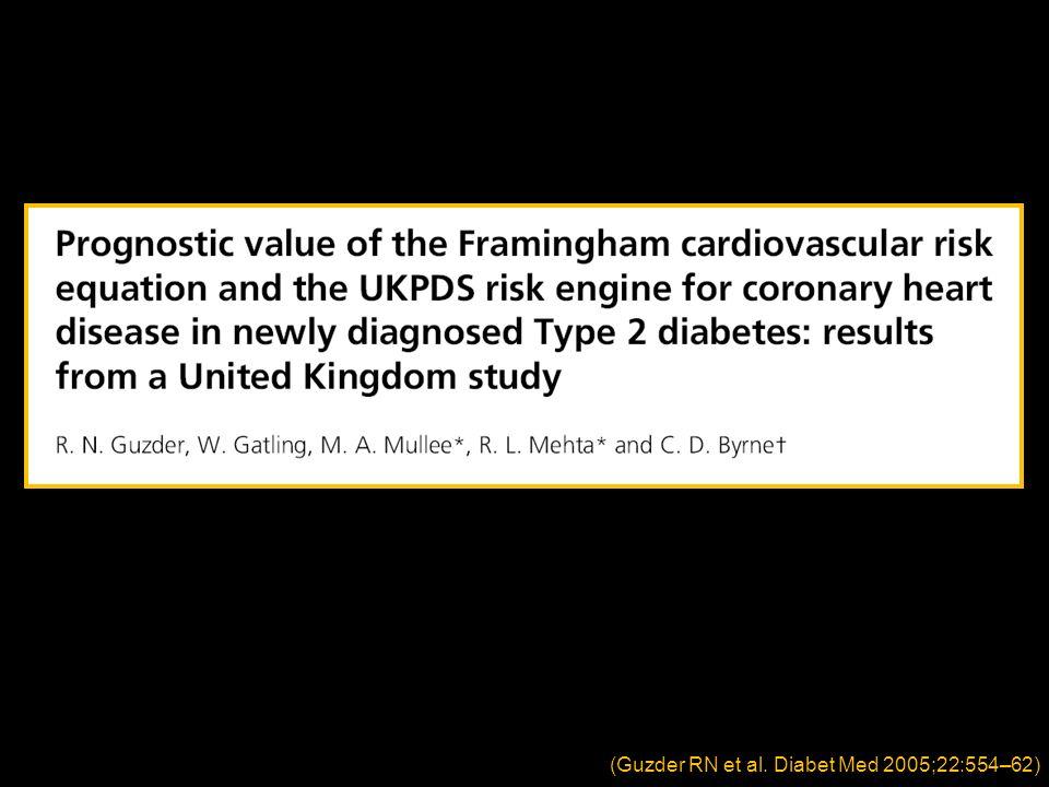 (Guzder RN et al. Diabet Med 2005;22:554–62)
