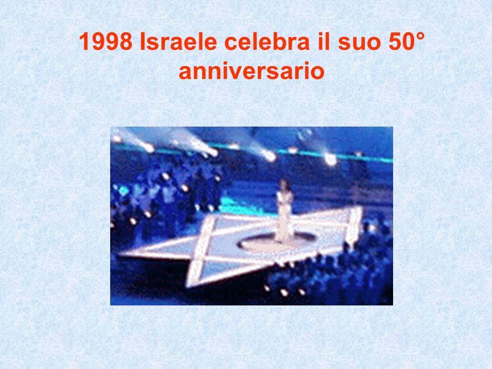 1998 Israele celebra il suo 50° anniversario
