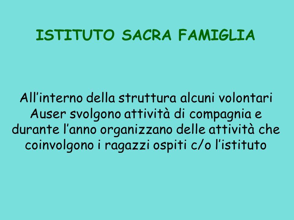 La Gestione e lorganizzazione delle attività ricreative è affidata a: Un Coordinatore 3 Volontari Residenza Pontirolo