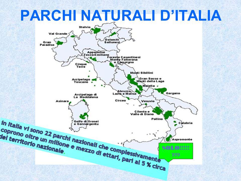 PARCHI NATURALI DITALIA SOLO!!!!! ???