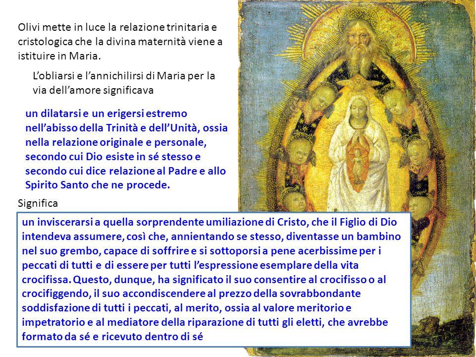 un dilatarsi e un erigersi estremo nellabisso della Trinità e dellUnità, ossia nella relazione originale e personale, secondo cui Dio esiste in sé ste
