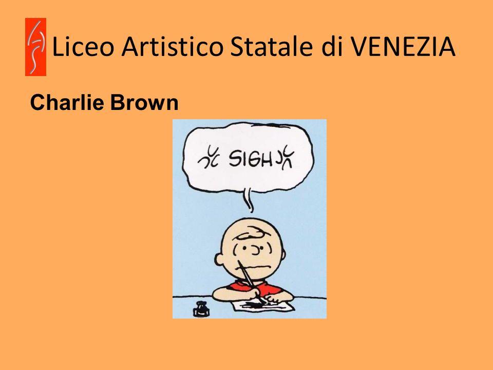 Liceo Artistico Statale di VENEZIA Charlie Brown