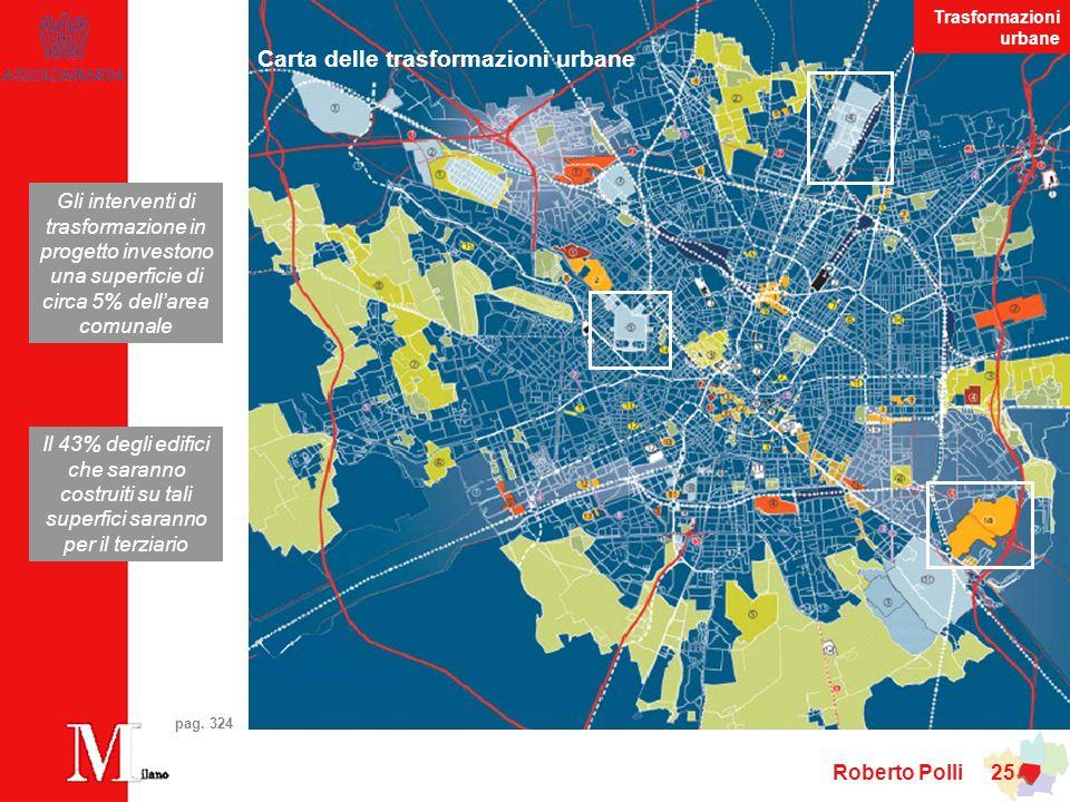 Roberto Polli 25 Carta delle trasformazioni urbane pag.