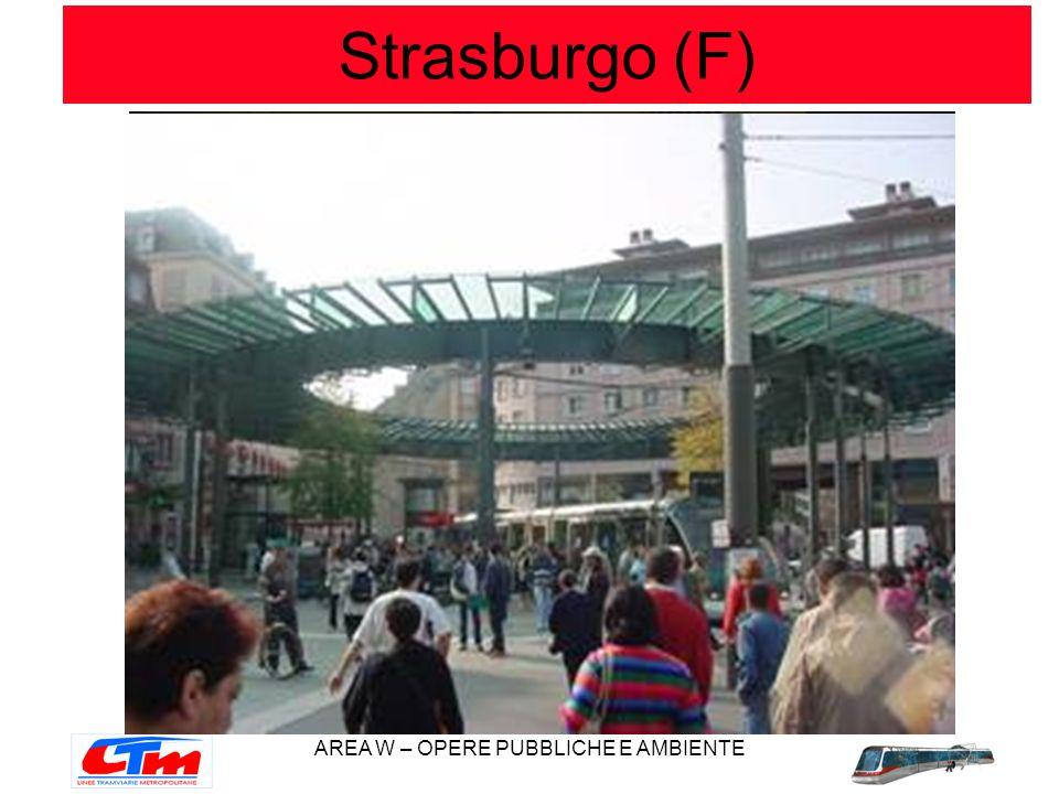 AREA W – OPERE PUBBLICHE E AMBIENTE Strasburgo (F)