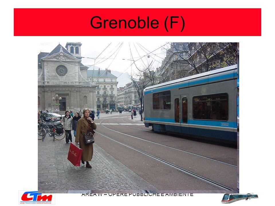 AREA W – OPERE PUBBLICHE E AMBIENTE Grenoble (F)