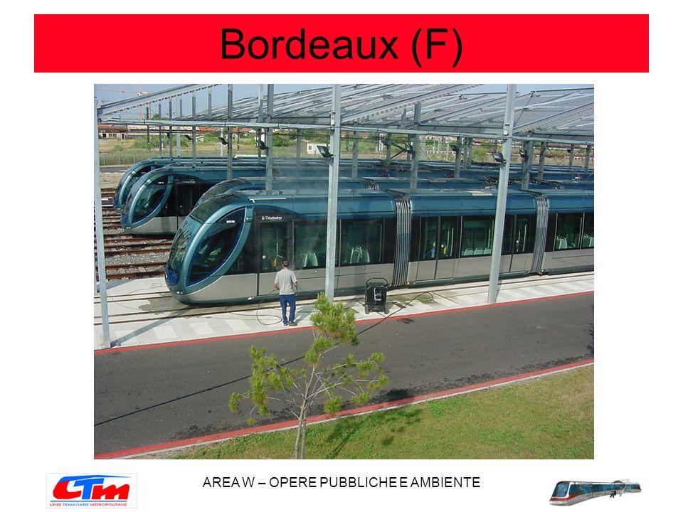 AREA W – OPERE PUBBLICHE E AMBIENTE Bordeaux (F)