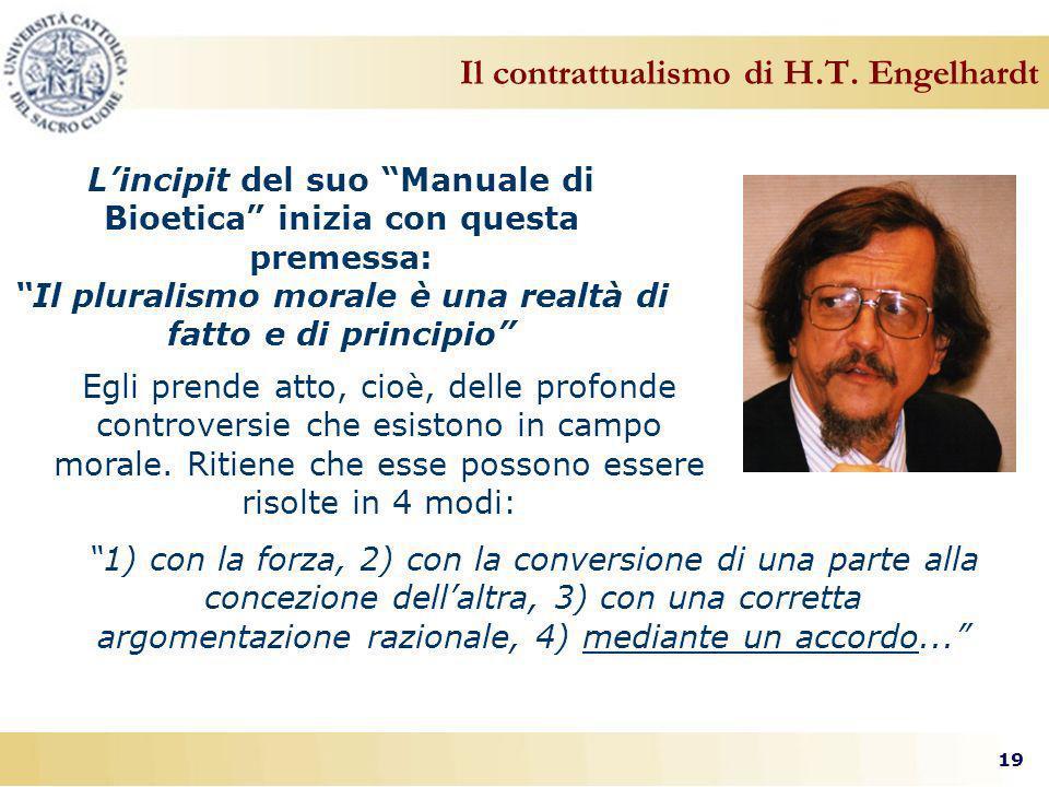 19 Il contrattualismo di H.T.