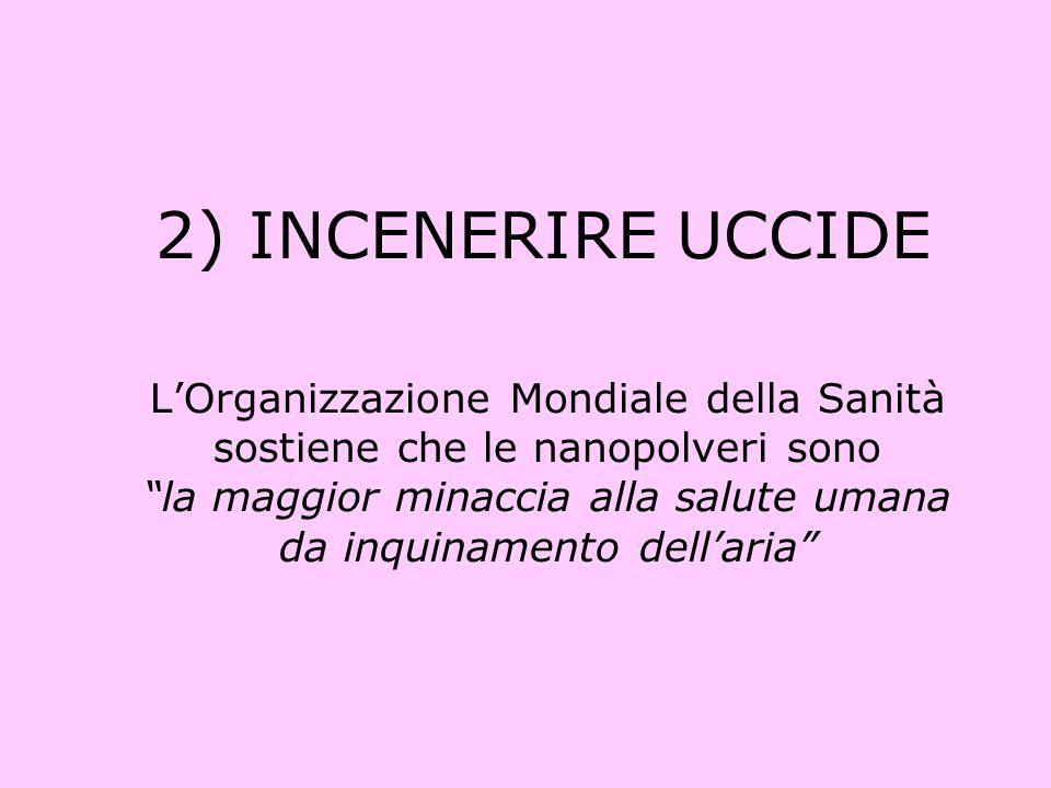 In Italia causano un calo di vita medio di 9 mesi Provocano cancro, malformazioni fetali, Parkinson, Alzheimer, infarto e ictus