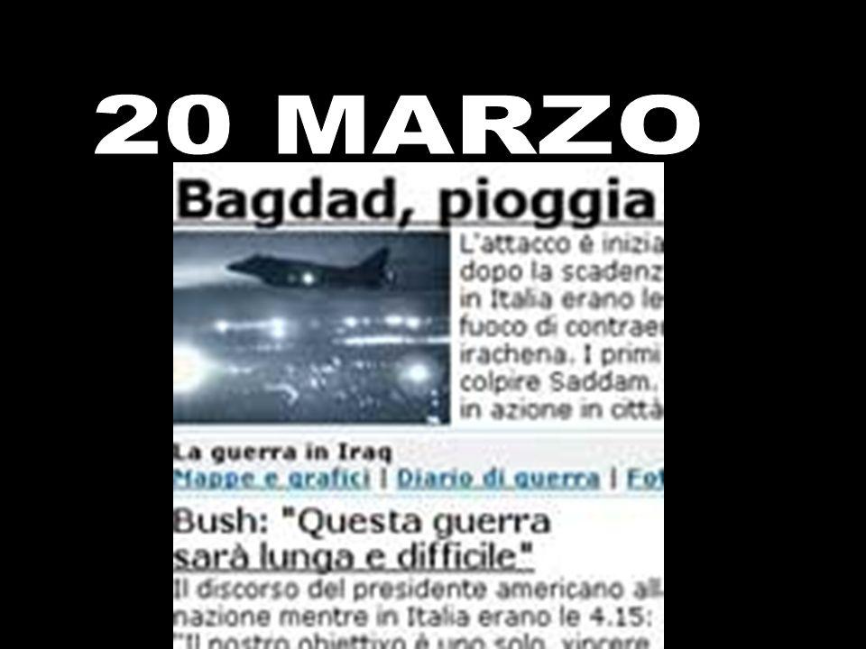 LA NOTTE DELLATTACCO L operazione militare decisa quaranta minuti prima della scadenza dell ultimatum, su consiglio dell intelligence Pioggia di cruise su Bagdad Obiettivo: uccidere Saddam Attacco all alba, meno intenso di quanto si prevedesse Il figlio del raìs incita alla jihad contro gli aggressori BAGDAD - L attacco scatta alle 5,35 (le 3,35 in Italia), quando a Bagdad albeggia.