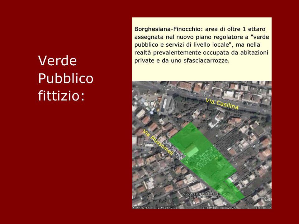 Verde Pubblico fittizio: