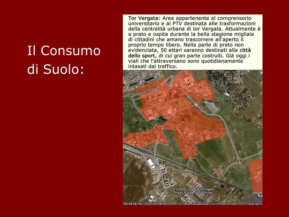 Il Consumo di Suolo: