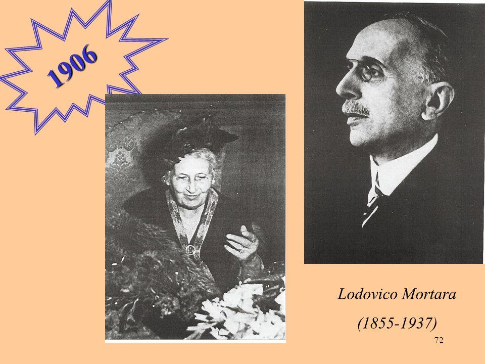 72 1906 Lodovico Mortara (1855-1937)