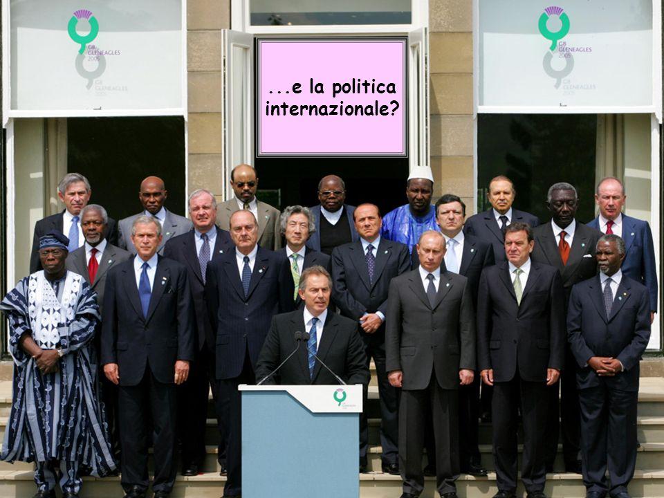 9 G8...e la politica internazionale?
