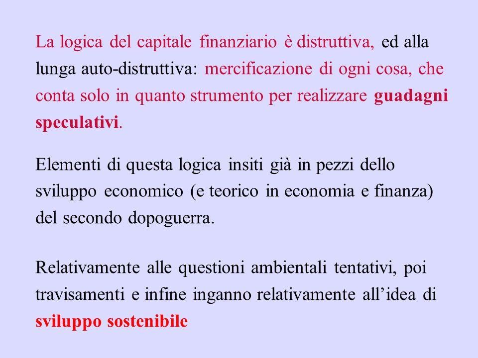 Capitale industriale e capitale finanziario La logica del capitale finanziario e di quello industriale. Le fasi del capitalismo: da Marx a Hilferding,