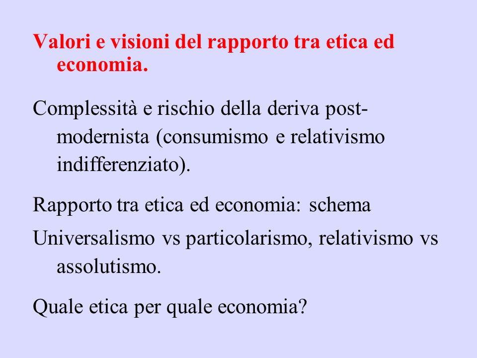 La teoria economica predominante, si fonda su : individualismo metodologico e atomismo sociale, strumentalismo e consequenzialismo ipotesi di massimiz