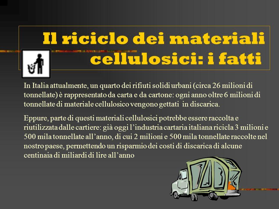Il 24 ottobre 1997 è stato costituito a Milano COMIECO, il Consorzio nazionale per il recupero e il riciclo degli imballaggi a base cellulosica.La filiera cartaria nazionale, con la creazione del Consorzio Volontario, è la prima filiera ad organizzarsi secondo quanto enunciato dal decreto legislativo 22/97, il cosiddetto decreto Ronchi.