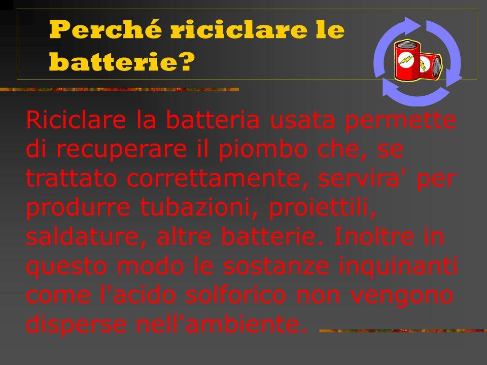 La batteria, dopo una serie di cicli di scarica e ricarica, non è piu in grado di accumulare e conservare l energia e si esaurisce.