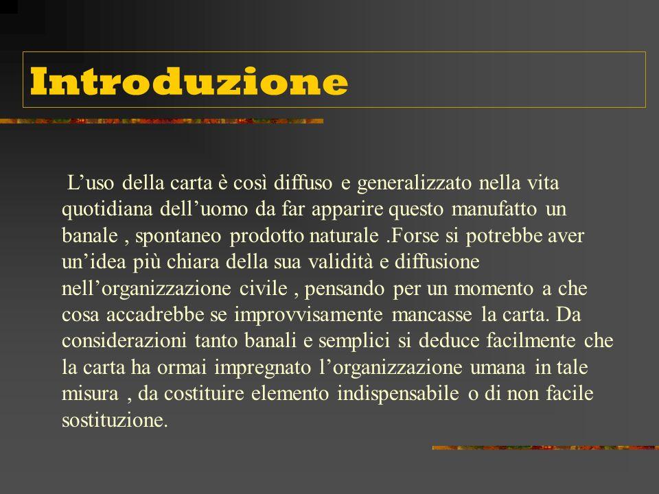 La carta Lavoro svolto da: Villano Angelica Taurino Donatella classe 2 P