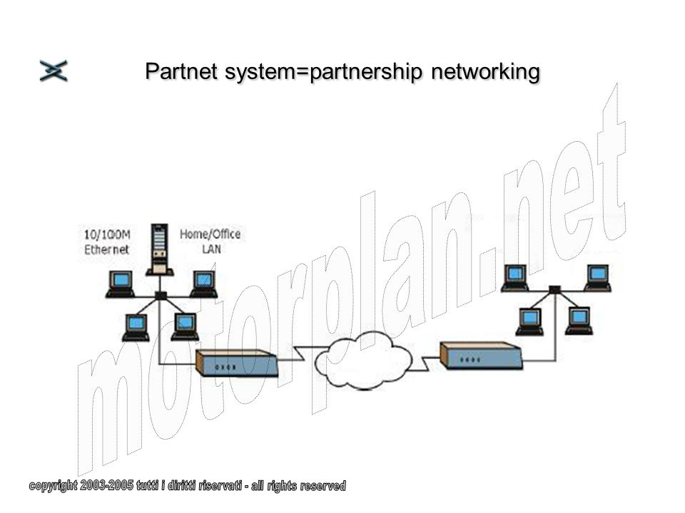 Partnet system=partnership networking